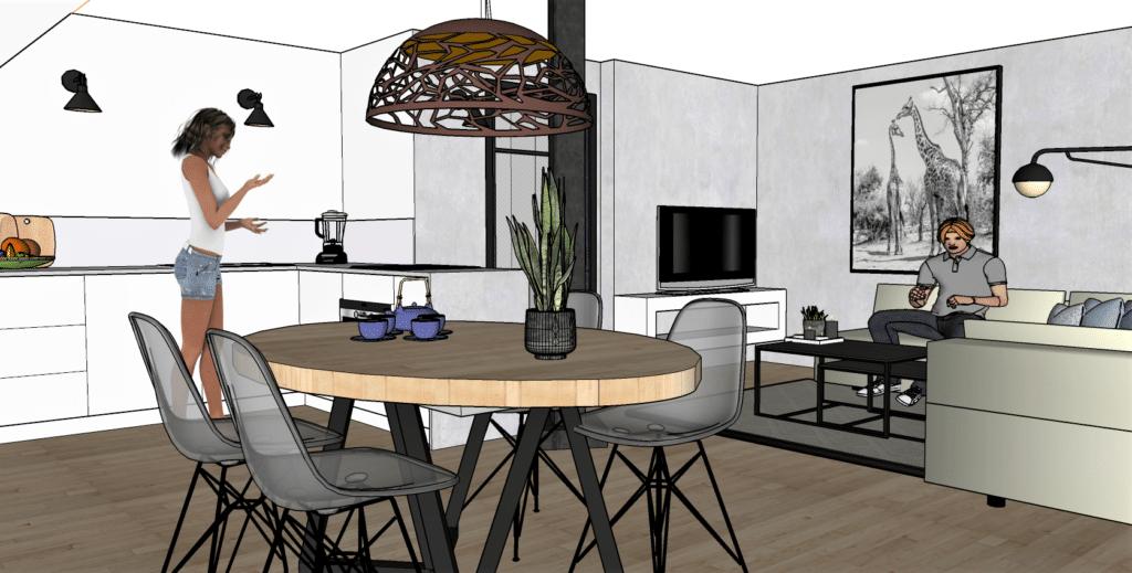 Interieurontwerp appartement Elias Beeckman kazerne